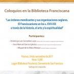 COLOQUIOS EN LA BIBLIOTECA FRANCISCANA DE SANTIAGO