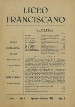 Revista Liceo Franciscano - Números 3