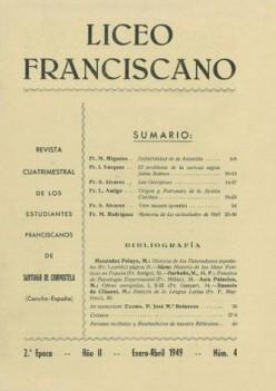 Revista Liceo Franciscano - Números 4
