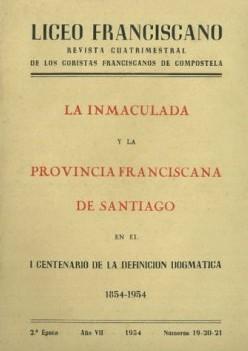 Revista Liceo Franciscano - Números 19-21