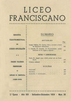 Revista Liceo Franciscano - Números 36