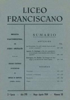 Revista Liceo Franciscano - Números 50