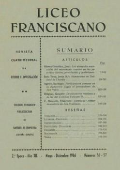 Revista Liceo Franciscano - Números 56-57