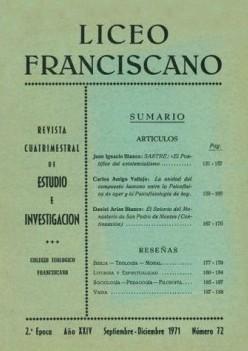 Revista Liceo Franciscano - Números 72