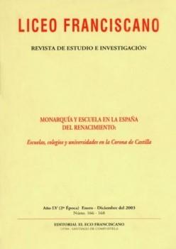 Revista Liceo Franciscano - Números 157-159