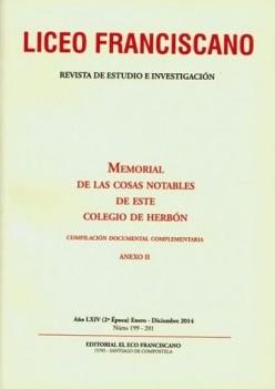 Revista Liceo Franciscano - Números 199-201