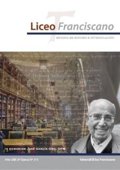 Revista Liceo Franciscano - Números 213